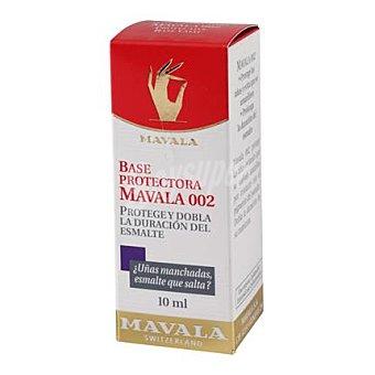Mavala Base tratante 002 para evitar uñas amarillas 10 ml