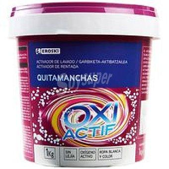 Eroski Quitamanchas Oxi polvo Bote 1 kg