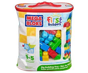 MEGA BLOCKS Incluye 60 Piezas Grandes, Coloridas, de Varias Formas y Tamaños 1 Unidad