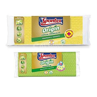 Spontex Origin bayeta absorbente grande especial vajillas Envase 1 unidad