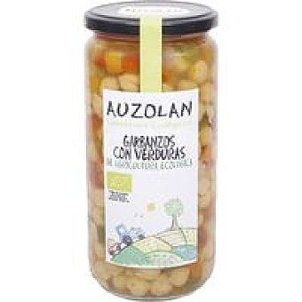 Auzolan Garbanzos con verduras ecológicas Frasco 450 g