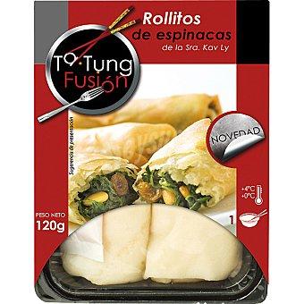 Ta Tung Rollitos de espinacas Bandeja 120 g