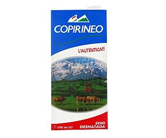 UHT semidesnatada COOPIRINEO Leche 1 l