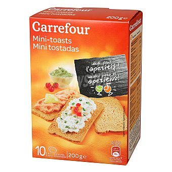 Carrefour Mini tostadas 200 g