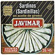 Sardinas en aceite de girasol Javimar 185 g Javimar