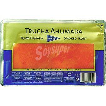 Hipercor Trucha ahumada Sobre 100 g