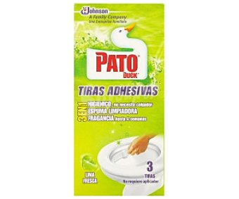 Pato Tiras Adhesivas Lima 3 Unidades