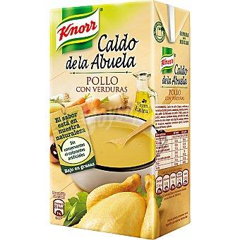 Knorr Caldo de pollo con verduras Caldo de la Abuela Envase 500 ml