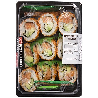 SUSHI DAILY Spicy roll de salmón Bandeja de 218 g