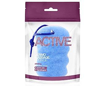 Suavipiel Esponja de baño hypoalergénica con acción exfoliante Active dermo