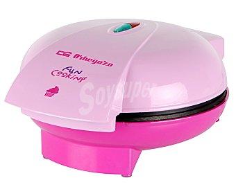 ORBEGOZO WL3000 Maquina de magdalenas cup-cake, 1400w, 6 unidades, placas antiadherentes, incluye recetas, 6 unidades