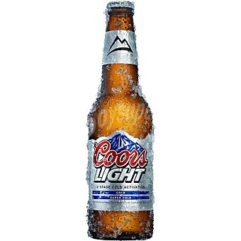 Coors Light cerveza rubia de Reino Unido botella 33 cl Botella 33 cl