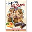 Estepeñitas barritas de almendra y chocolate rellenas de mermelada envase 300 g La Estepeña