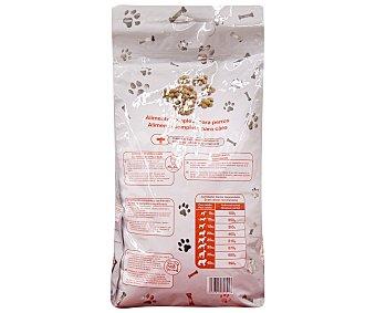 Auchan Comida Seca para Perro: Croquetas Bolsa de 4 Kilogramos