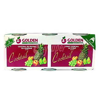 Cocktail golden foods fru.alm 125g x 3 unidades