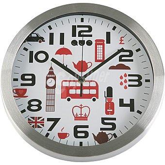 QUO Reloj de pared redondo 30 cm de Londres