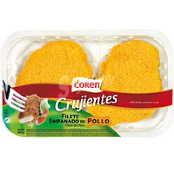 Coren Filetes de pollo empanados Bandeja 200 g