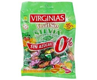 Virginias Caramelos Fruit sin Azúcar con Stevia 85 Gramos