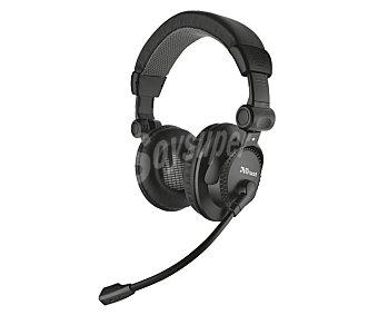 TRUST Auricular para PC, como, con micrófono, conexión Jack 3,5mm con micrófono, conexión Jack 3,5mm