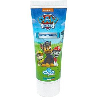 Patrulla Canina Pasta de dientes para ayudar o proteger los dientes de los niños de las caries fortalece el esmalte Tubo 75 ml