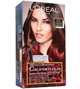 Preference L'Oréal Paris Mechas Californianas rojas para cabellos castaños o castaños oscuros 1 ud