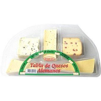 TGT ENTREMONT Tabla de quesos alemanes Envase 235 g
