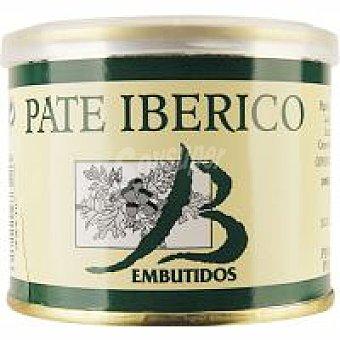 Embutidos Bueyo Paté ibérico Lata 200 g