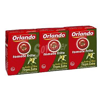 Orlando Tomate frito con aceite de oliva virgen extra pack 3 envases 210 g