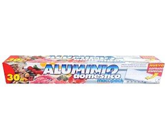 MACOPACK Papel de Aluminio 30 Metros