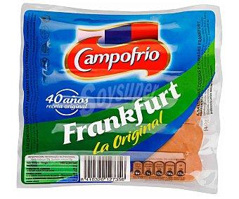 Campofrío Salchichas cocidas tipo Frankfurt de pollo y cerdo y elaboradas sin gluten 140 g