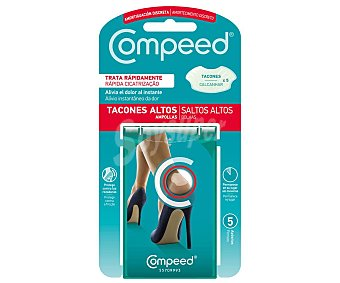 Compeed Apósito antiampollas especiales para tacones altos 5 uds