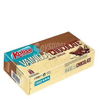 Kalise Helado familiar vainilla/chocolate 250 g
