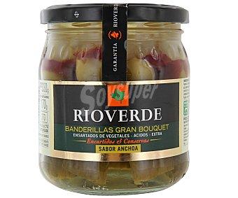 Rioverde Banderillas Gran Bouquet ( sabor anchoa) 170 g