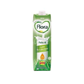 Flora Folic B leche semidesnatada  envase 1 l