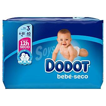 Dodot Azul pañales 6-10 kgs talla 3 paquete 40 uds paquete 40 uds