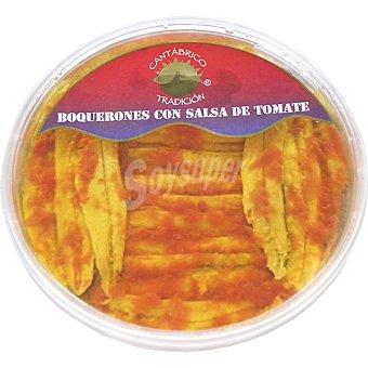 CANTÁBRICO SELECIÓN boquerones con salsa de tomate tarrina 90 g