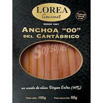Lorea Gran anchoa cantábrico Bandeja 60 g