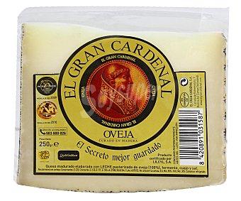 EL GRAN CARDENAL Queso de oveja curado 250 gramos