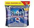 Detergente en pastillas para lavavajillas 72 uds Finish Powerball