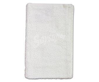 PRODUCTO ECONÓMICO ALCAMPO Toalla 100% algodón, color blanco, 30x50 centímetros 1 Unidad