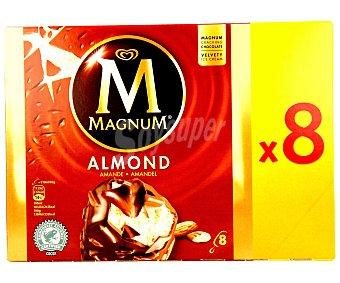 Magnum Bombón helado con almendras Pack 8 unidades de 120 mililitros