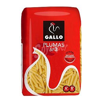 Gallo Pasta Gallo plumas Nº3 500gr 1unidad