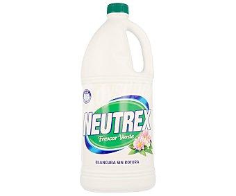 Neutrex Lejía para lavadora frescor verde Garrafa 2 litros