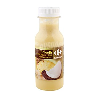 Carrefour Smooth piña/coco/plátano Carrefour 25 cl