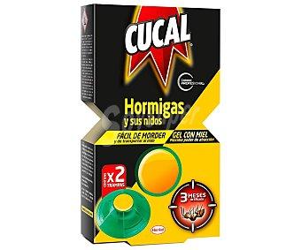 Cucal Trampa insecticida para hormigas 2 ud