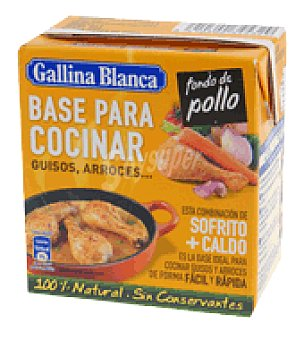 Gallina Blanca Base para cocinar fondo de pollo 500 ml