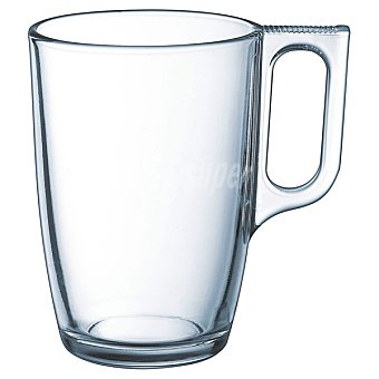LUMINARC Breakfast Mug de vidrio transparente 32 cl