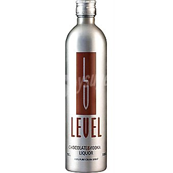 LEVEL Vodka sabor chocolate Botella 70 cl