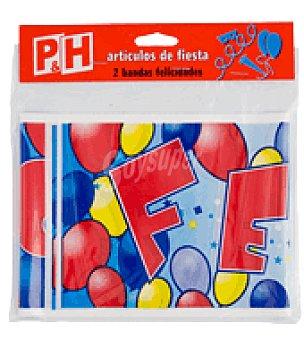 P & H Adorno banda felicidades 2 unidades