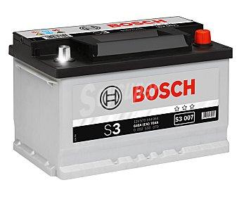 Bosch Batería de automóvil de 12v y 70 Ah, con potencia de arranque de 640 Amperios 1 unidad